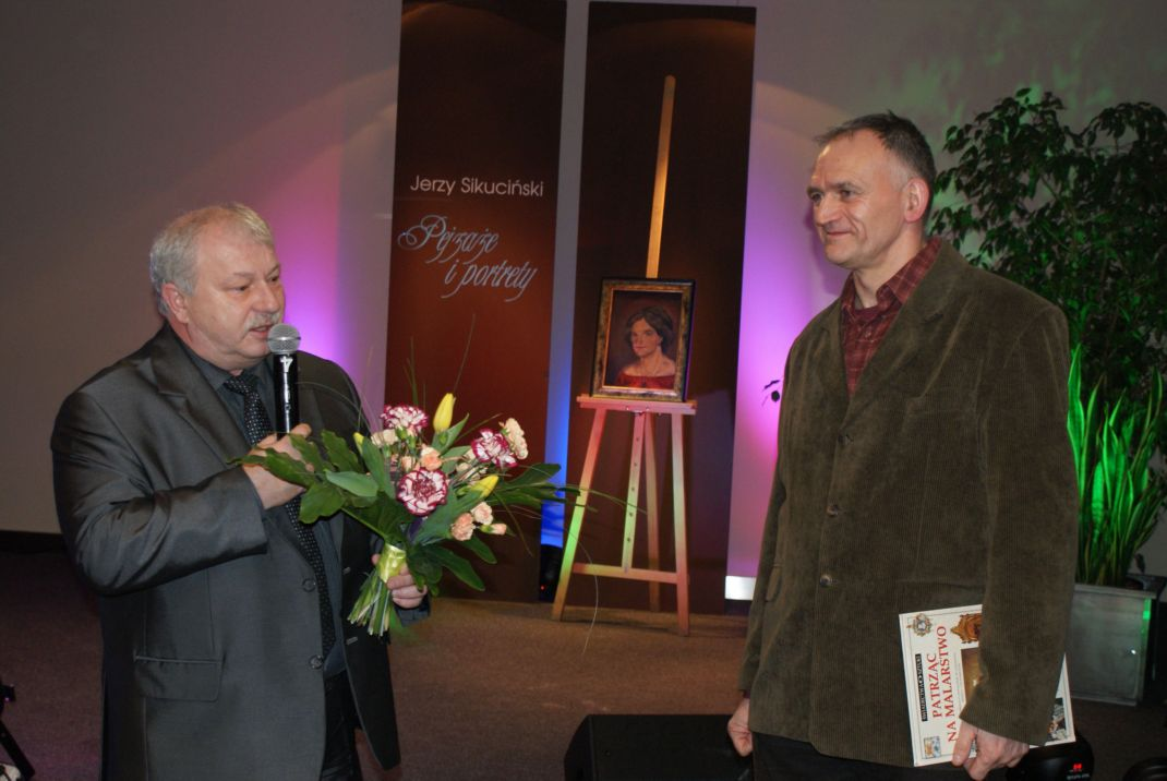 Ilustracja do informacji: Pejzaże i portrety znanego nauczyciela