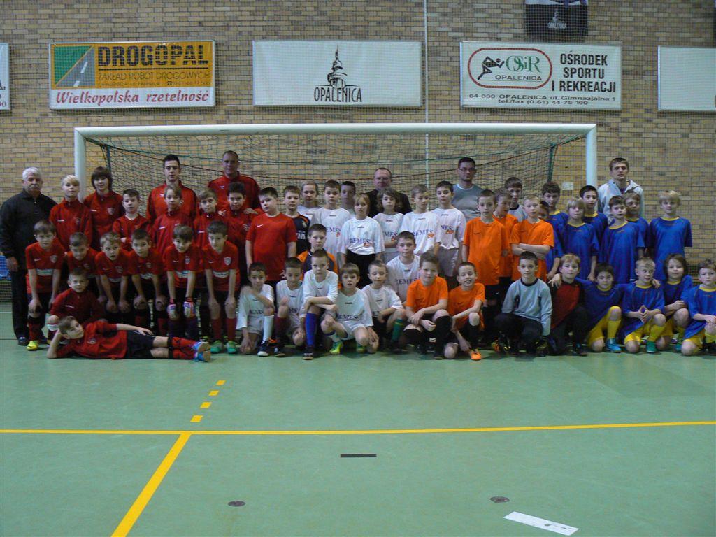 Ilustracja do informacji: Halowy Turniej Piłki Nożnej Orlików