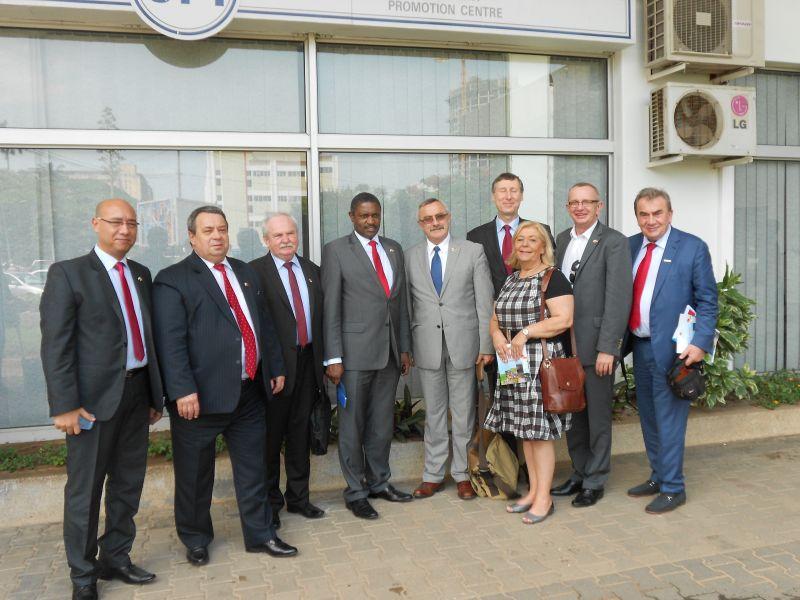 Ilustracja do informacji: Wizyta w Mozambiku
