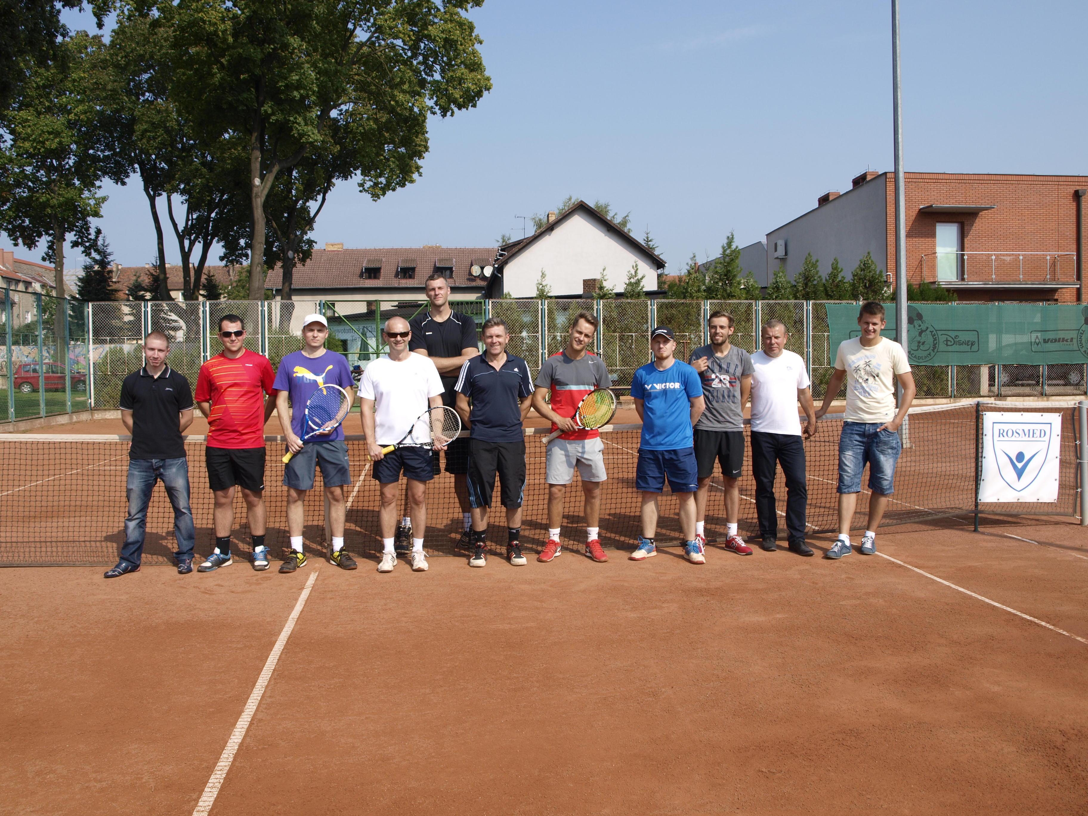 Ilustracja do informacji: Mistrzostwa Powiatu Nowotomyskiego w tenisie ziemnym