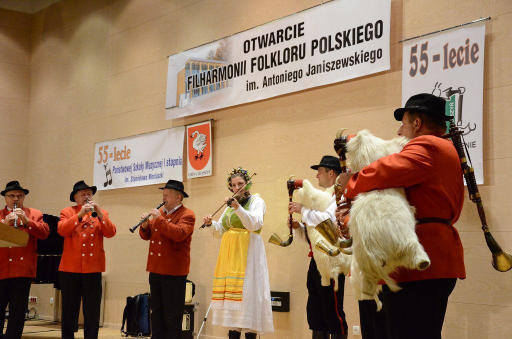Ilustracja do informacji: Filharmonia Folkloru Polskiego w Zbąszyniu uroczyście otwarta