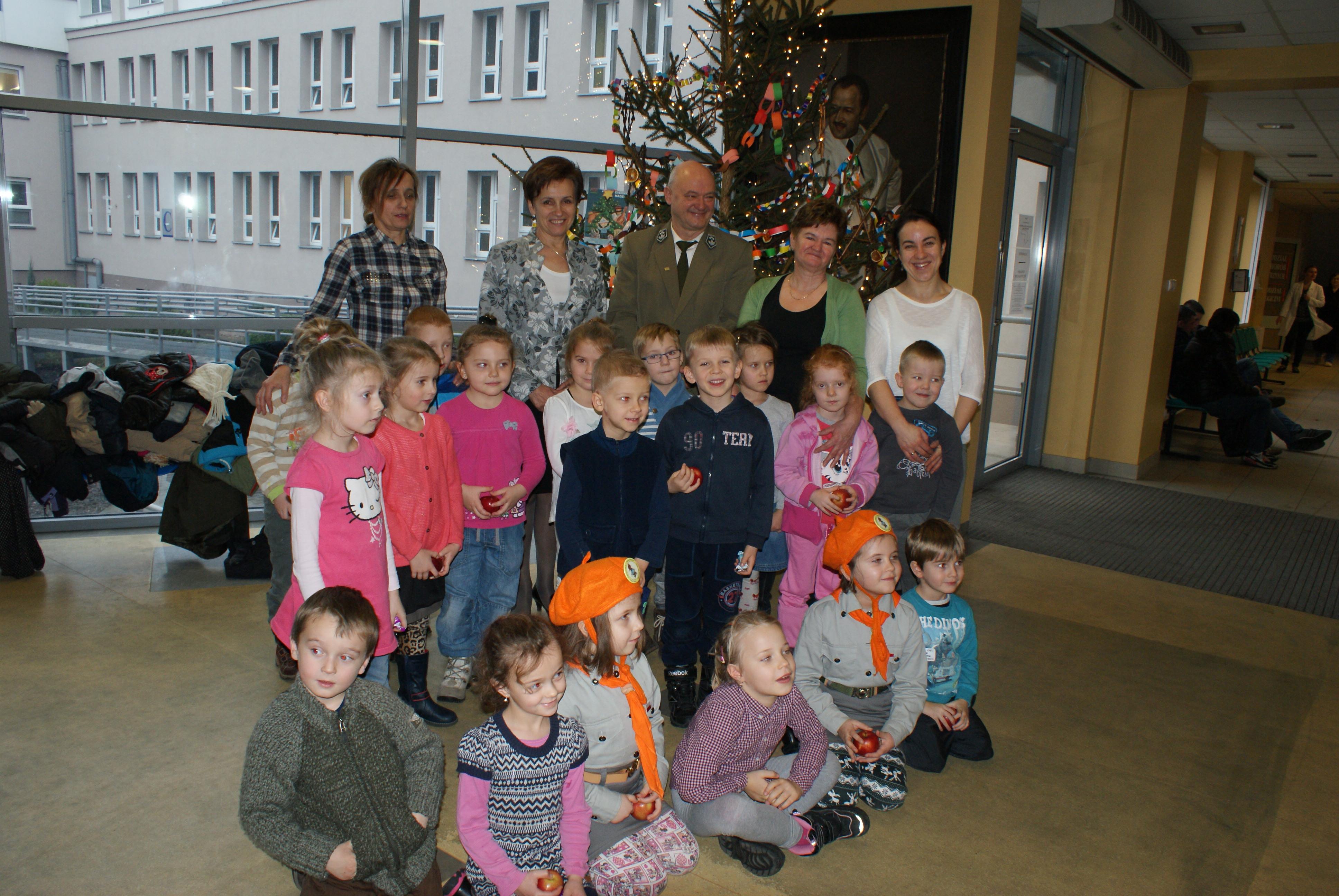 Ilustracja do informacji: Świąteczne drzewko dla naszego szpitala