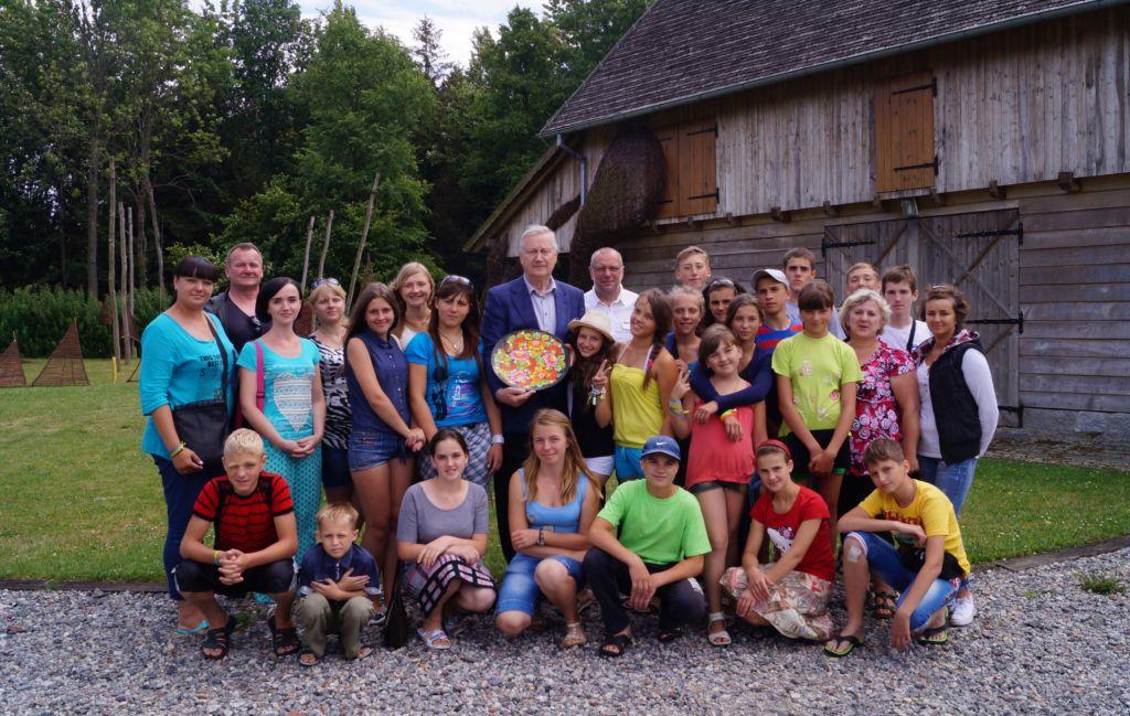 Ilustracja do informacji: Wizyta dzieci z Ukrainy w Nowym Tomyślu