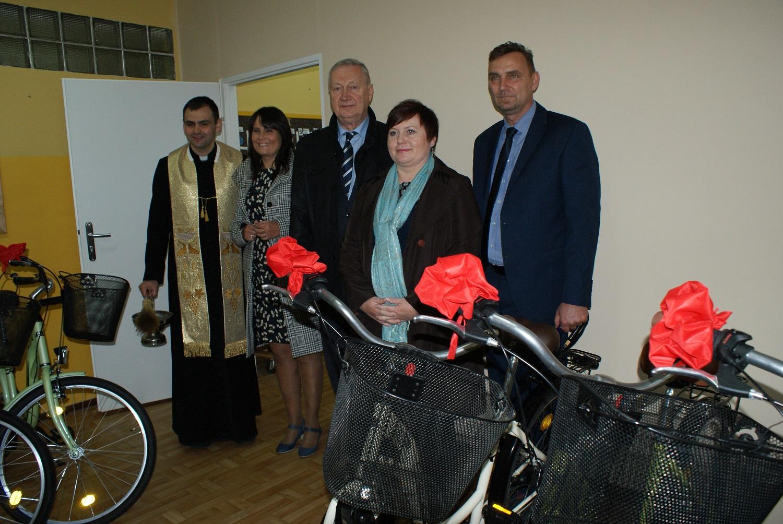 Ilustracja do informacji: Winda i rowery dla SOSW w Zbąszyniu