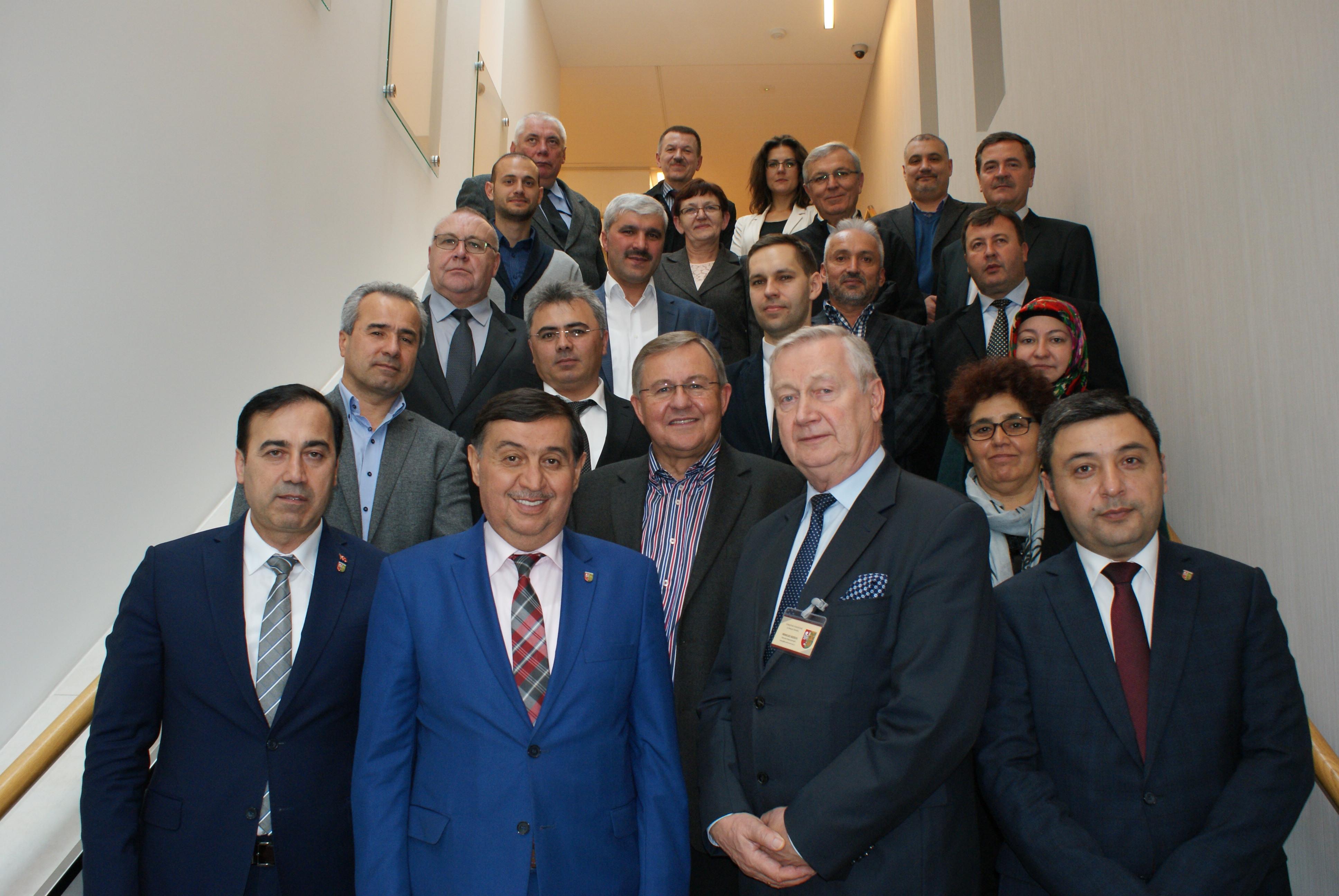 Ilustracja do informacji: Turecka delegacja odwiedziła Nowy Tomyśl