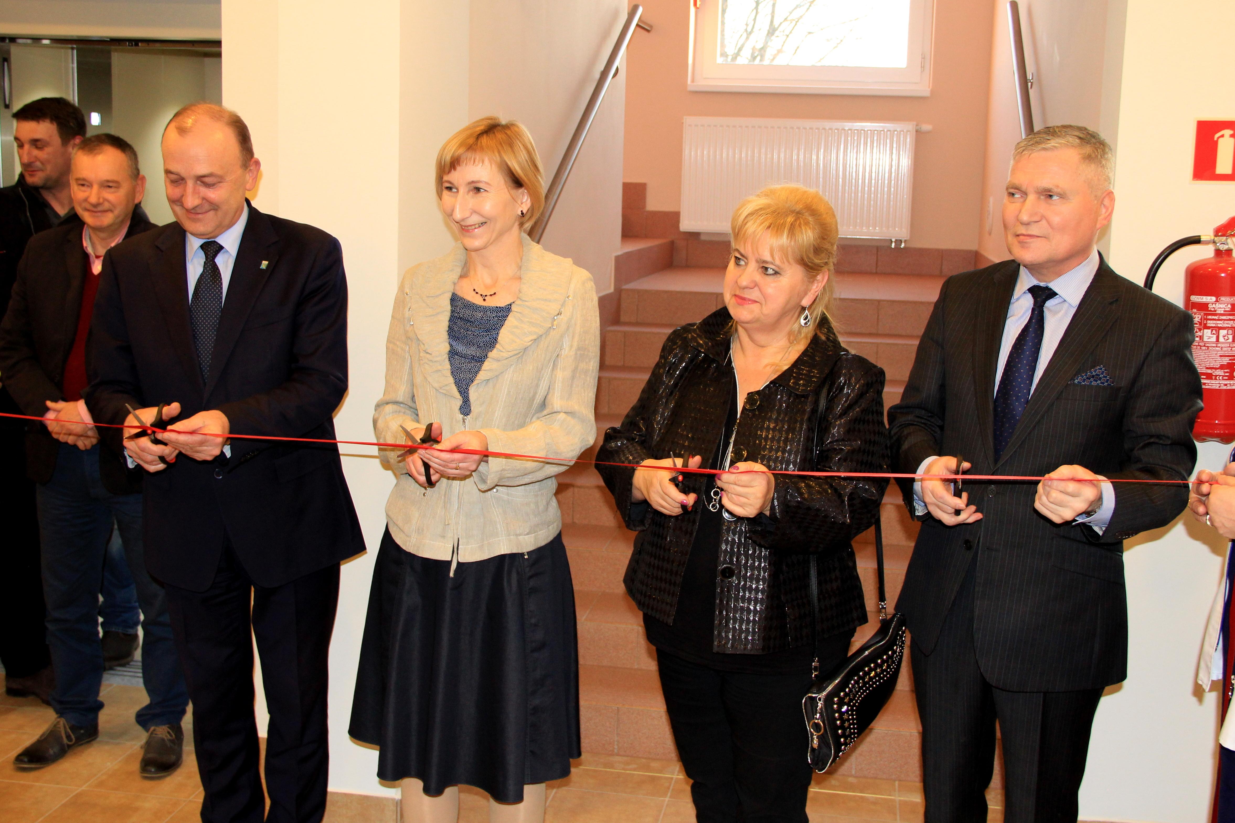 Ilustracja do informacji: Otwarcie nowej przychodni w Lwówku