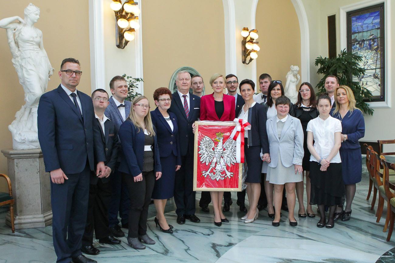 Ilustracja do informacji: Z wizytą w Pałacu Prezydenckim