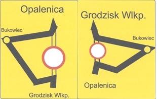 Ilustracja do informacji: Zamknięta droga Opalenica - Grodzisk Wlkp.