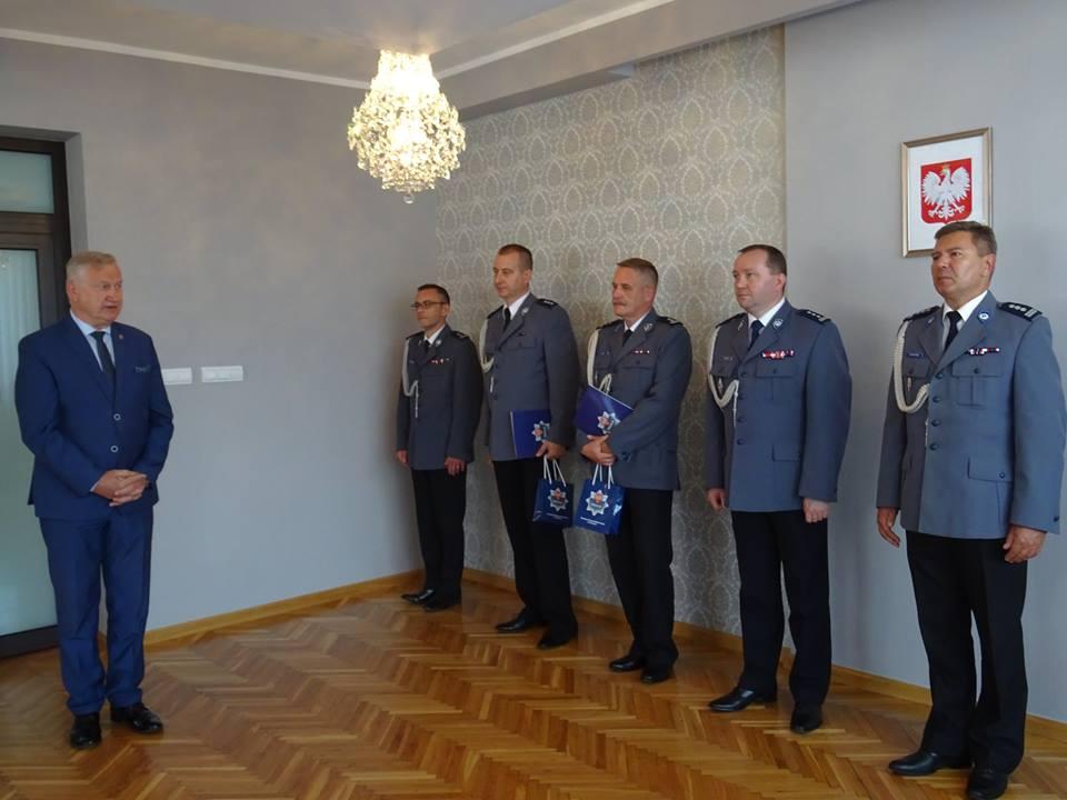 Ilustracja do informacji: Nowi szefowie nowotomyskiej policji