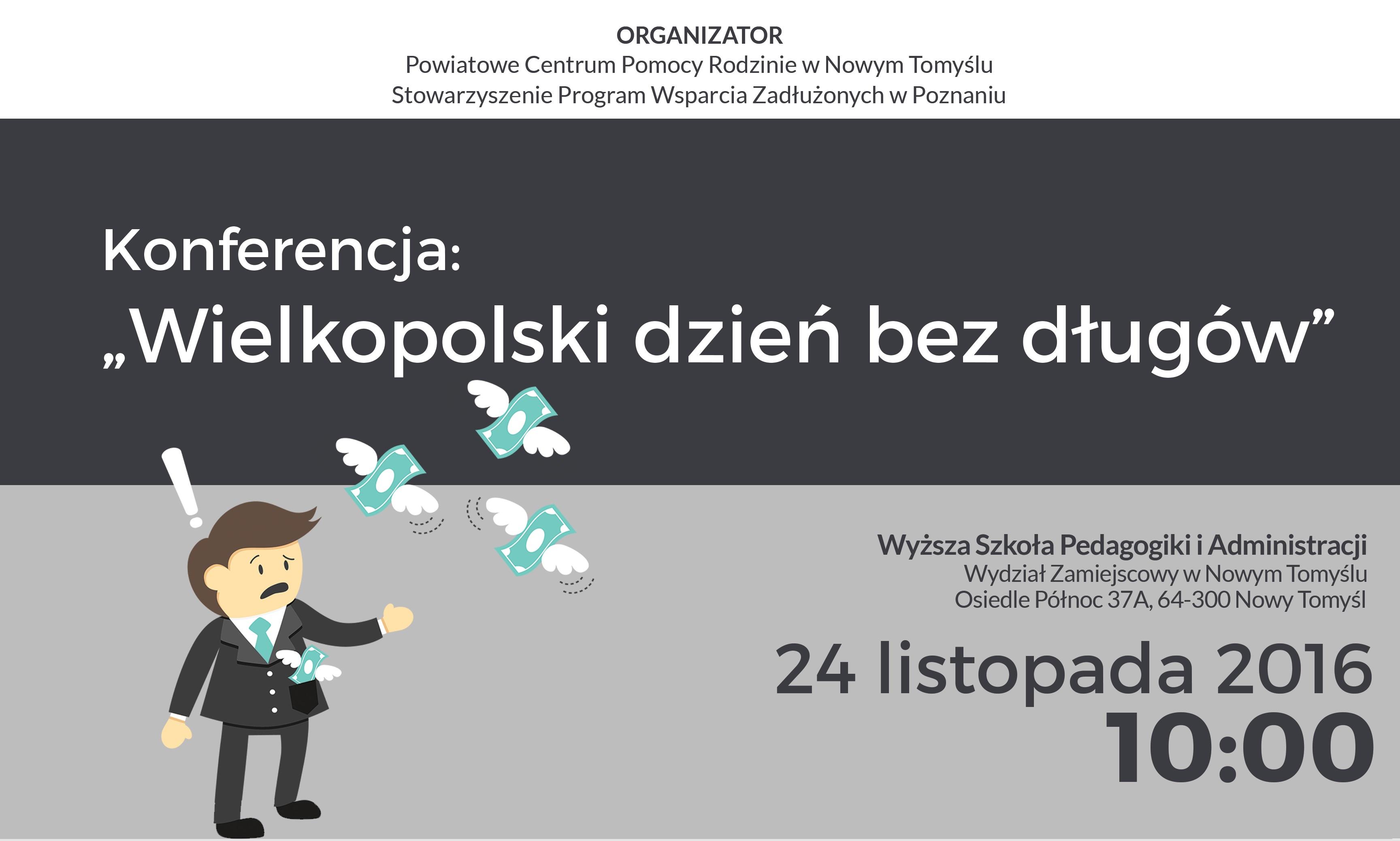 Ilustracja do informacji: Wielkopolski dzień bez długów