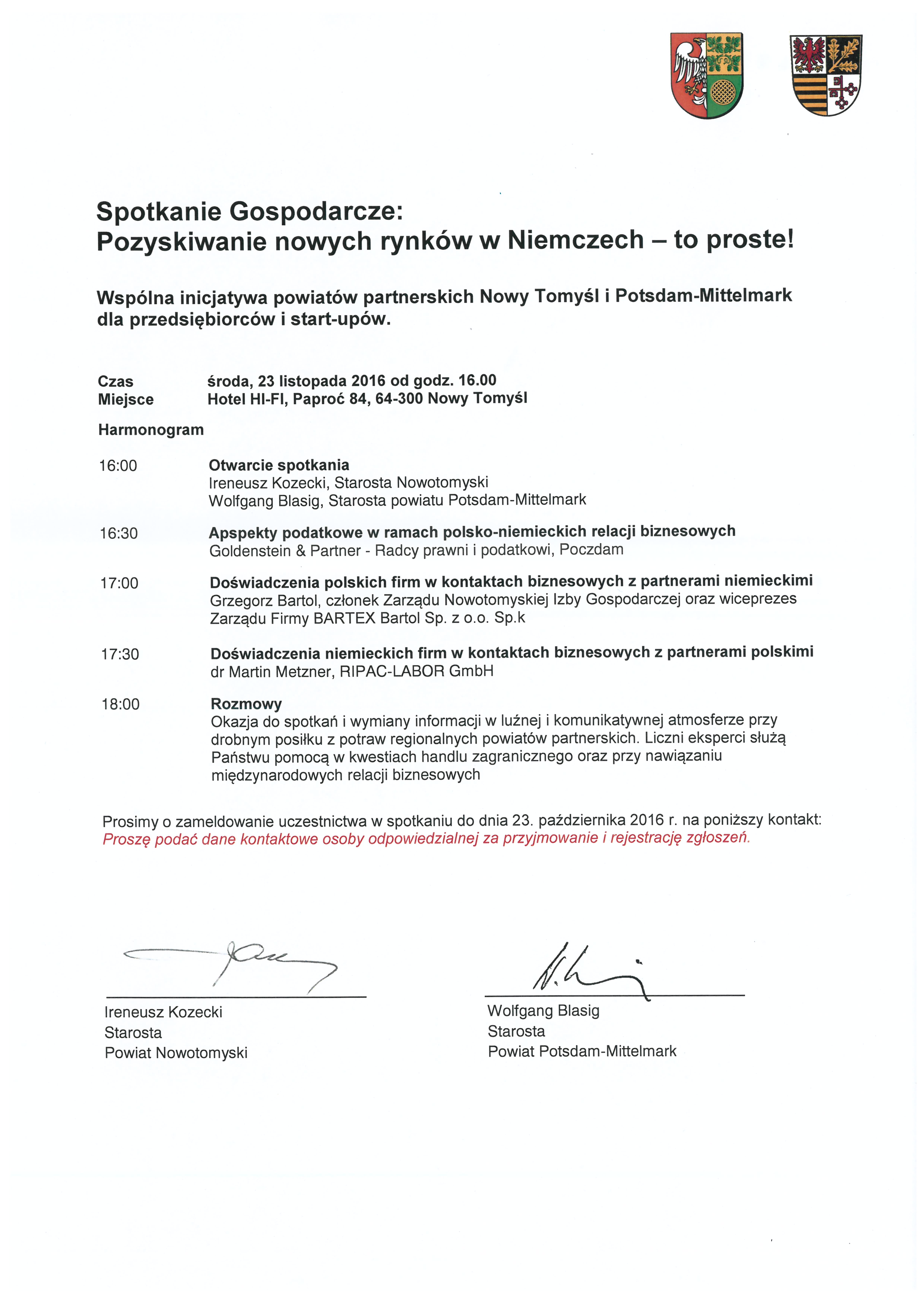 Ilustracja do informacji: Polsko-Niemieckie Spotkanie Gospodarcze