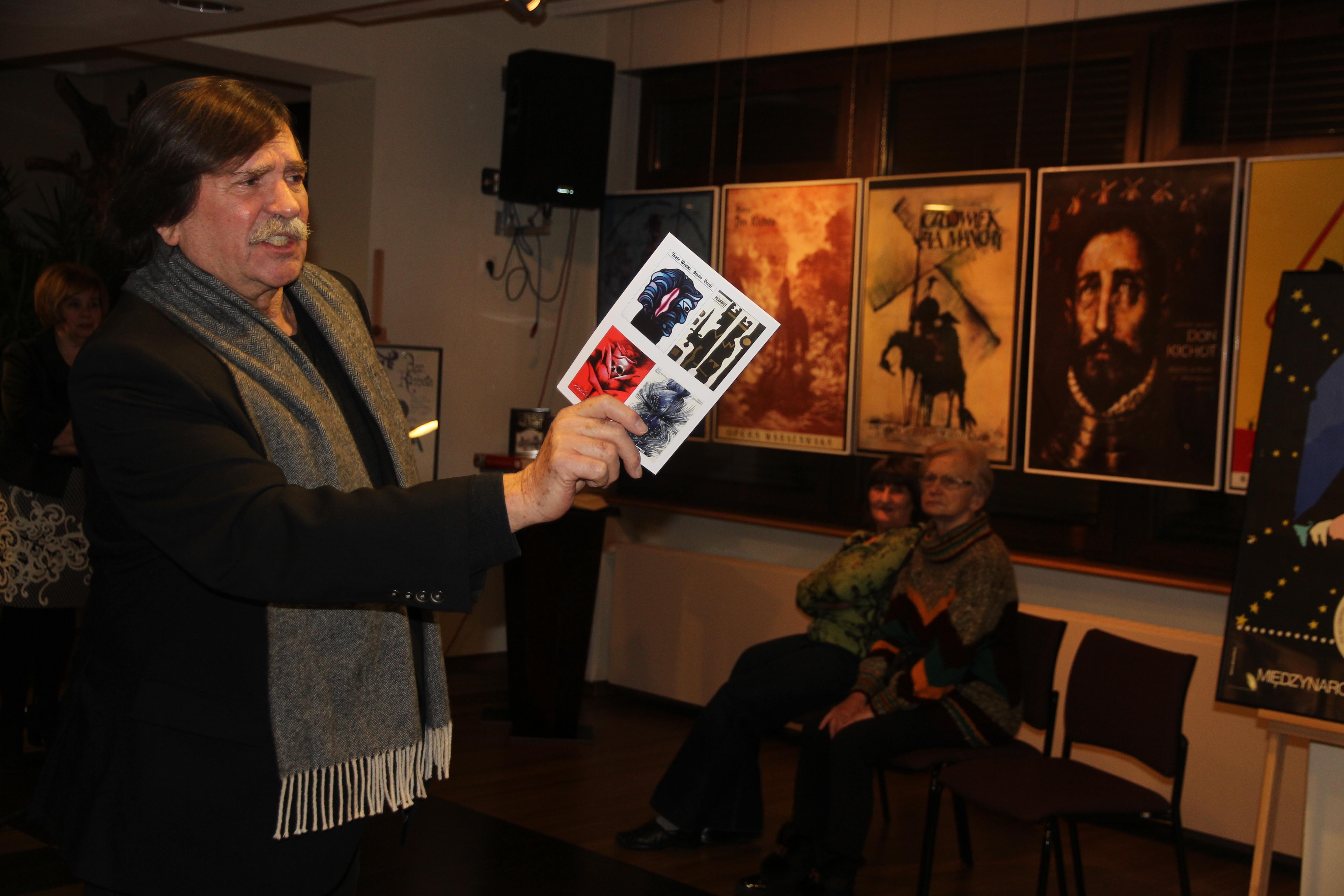 Ilustracja do informacji: Szekspir i Cervantes w polskiej sztuce plakatu