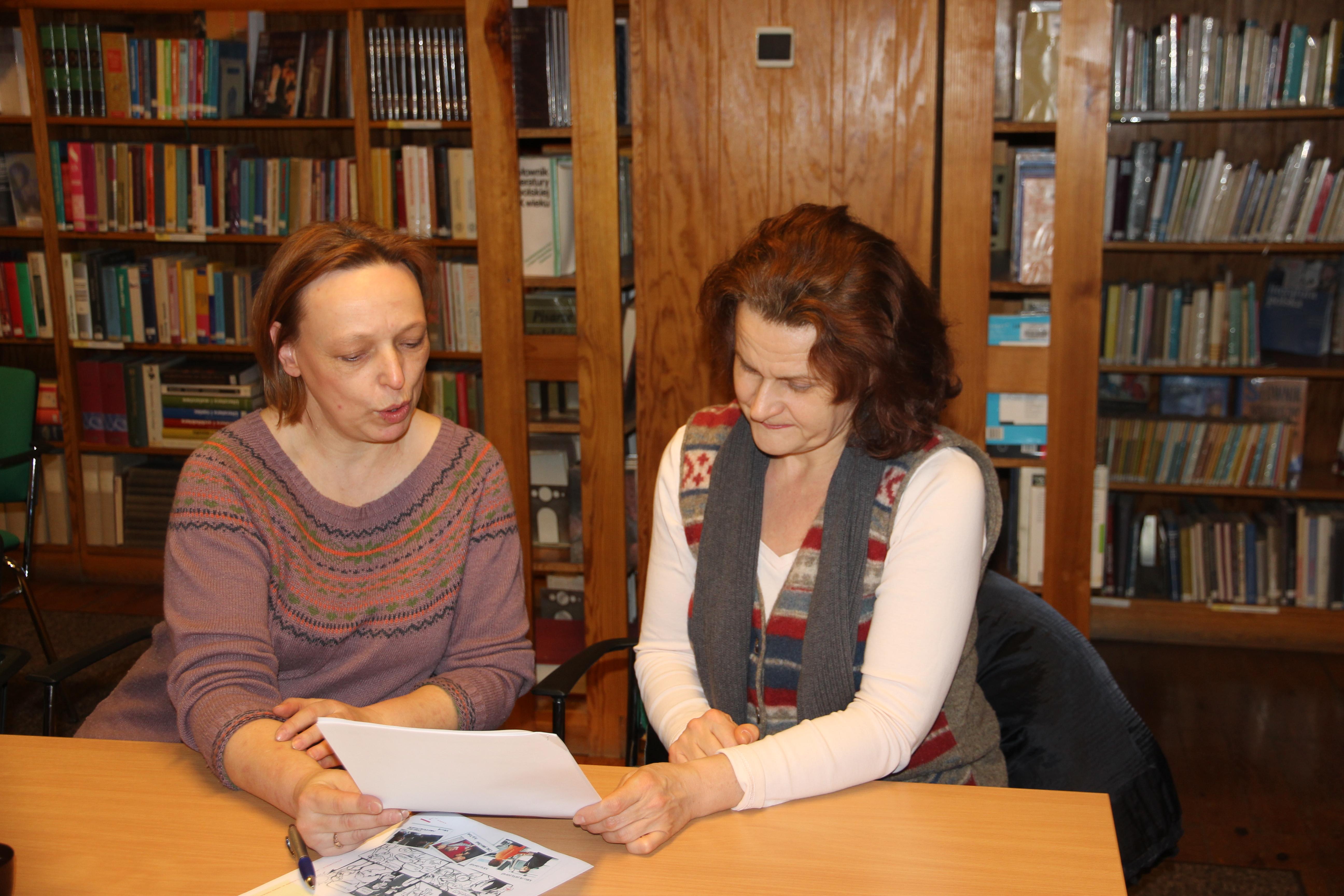 Ilustracja do informacji: Pierwsze spotkanie z językiem polskim