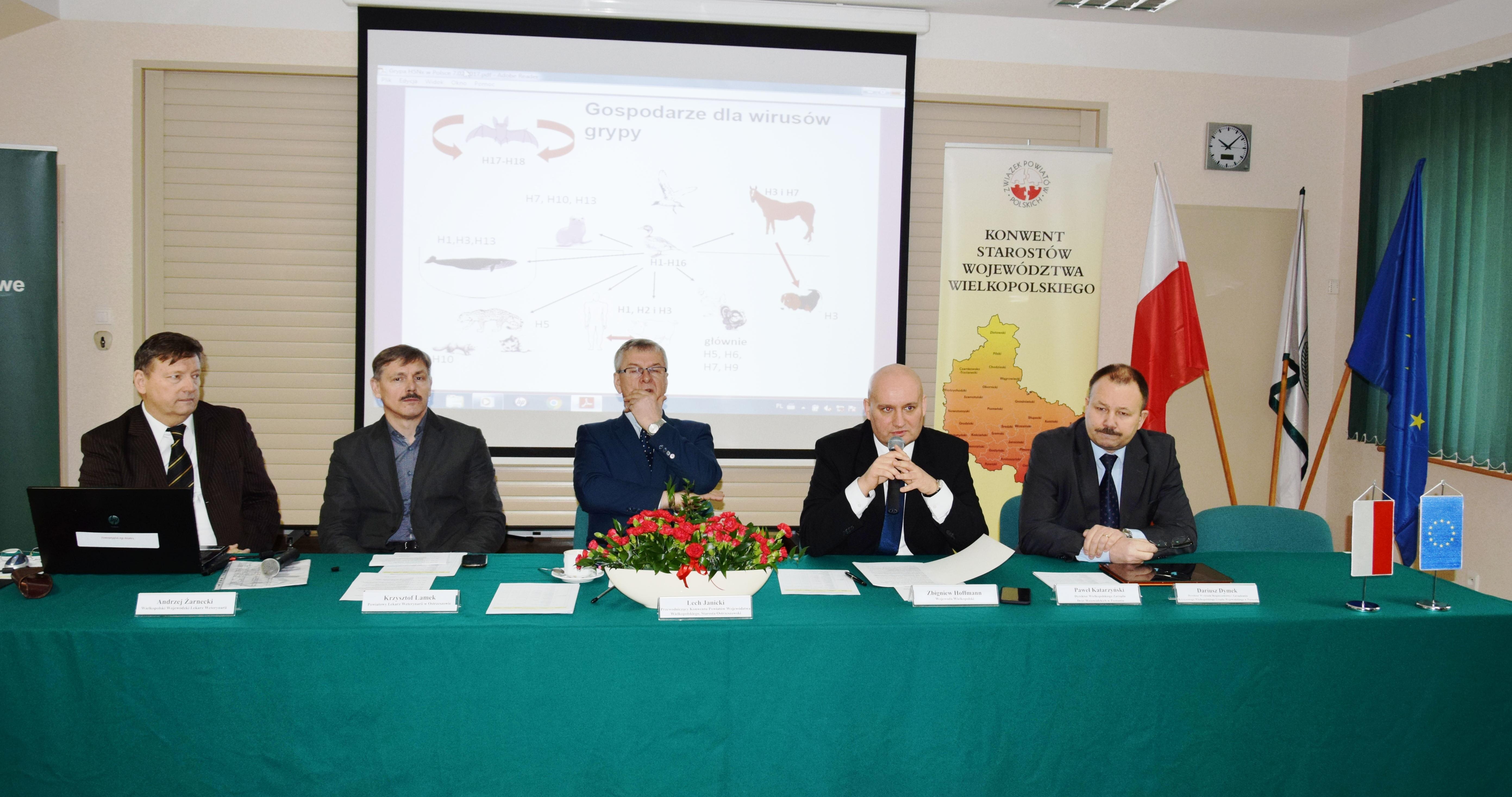 Ilustracja do informacji: Konwent Starostów Województwa Wielkopolskiego