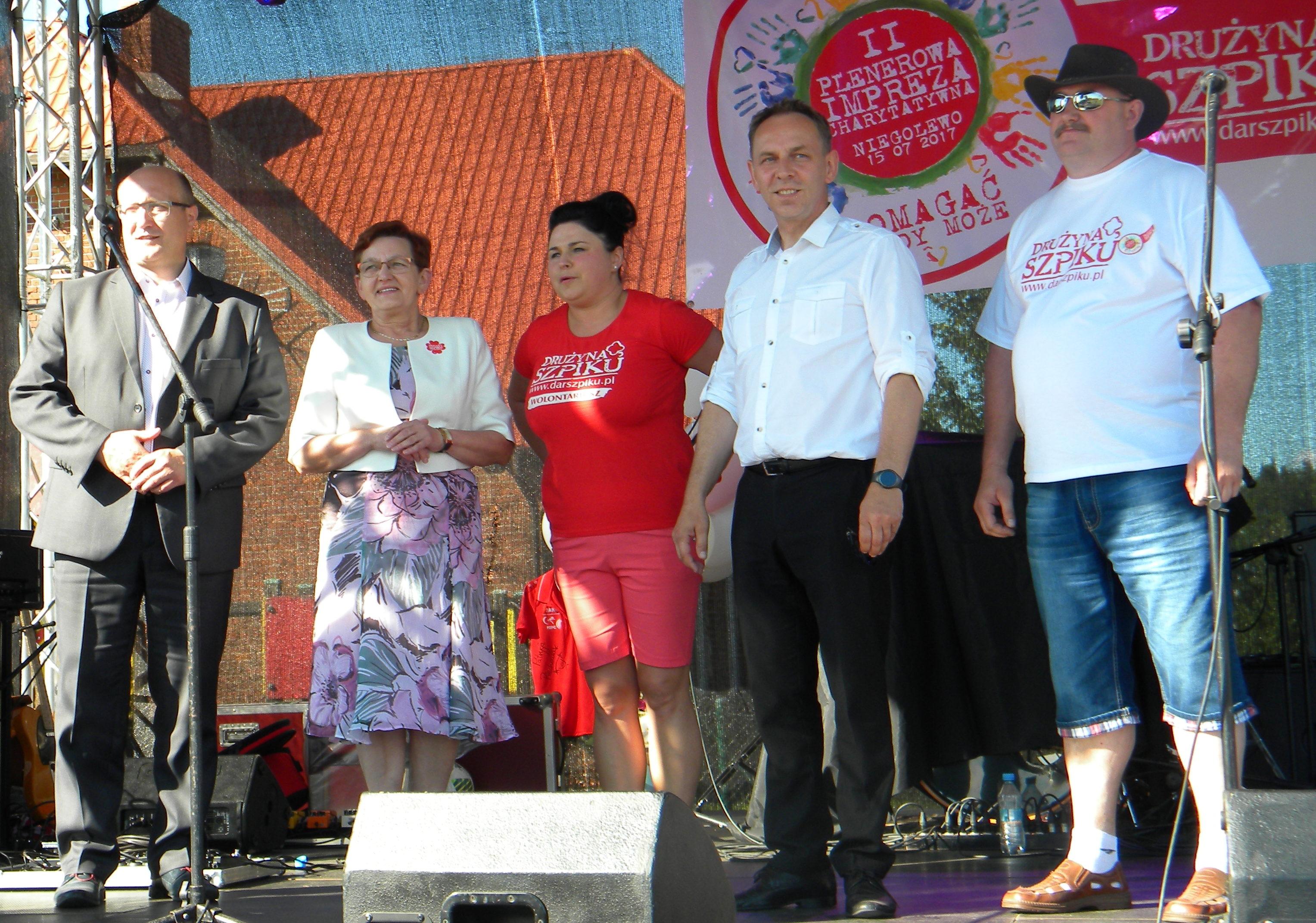 Ilustracja do informacji: II Plenerowa Impreza Charytatywna w Niegolewie