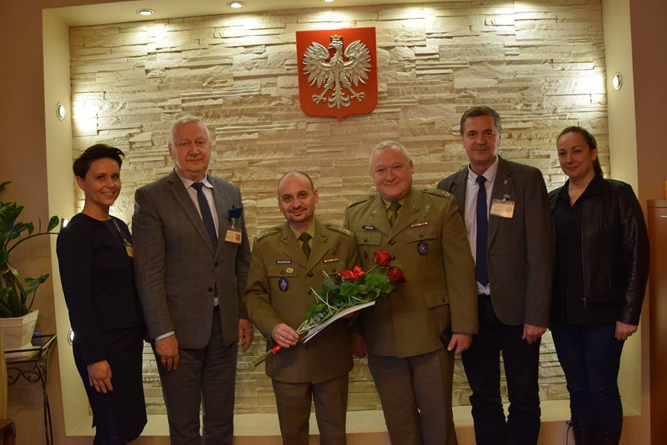Ilustracja do informacji: Przemysław Bojarczuk nowym Komendantem WKU