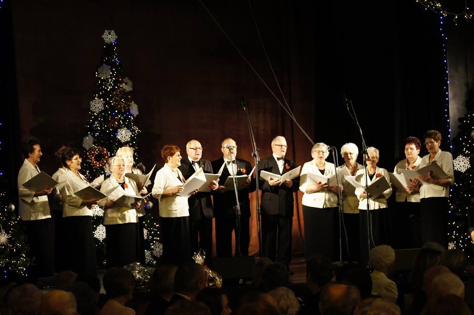 Ilustracja do informacji: Spotkanie noworoczne zbąszyńskich seniorów