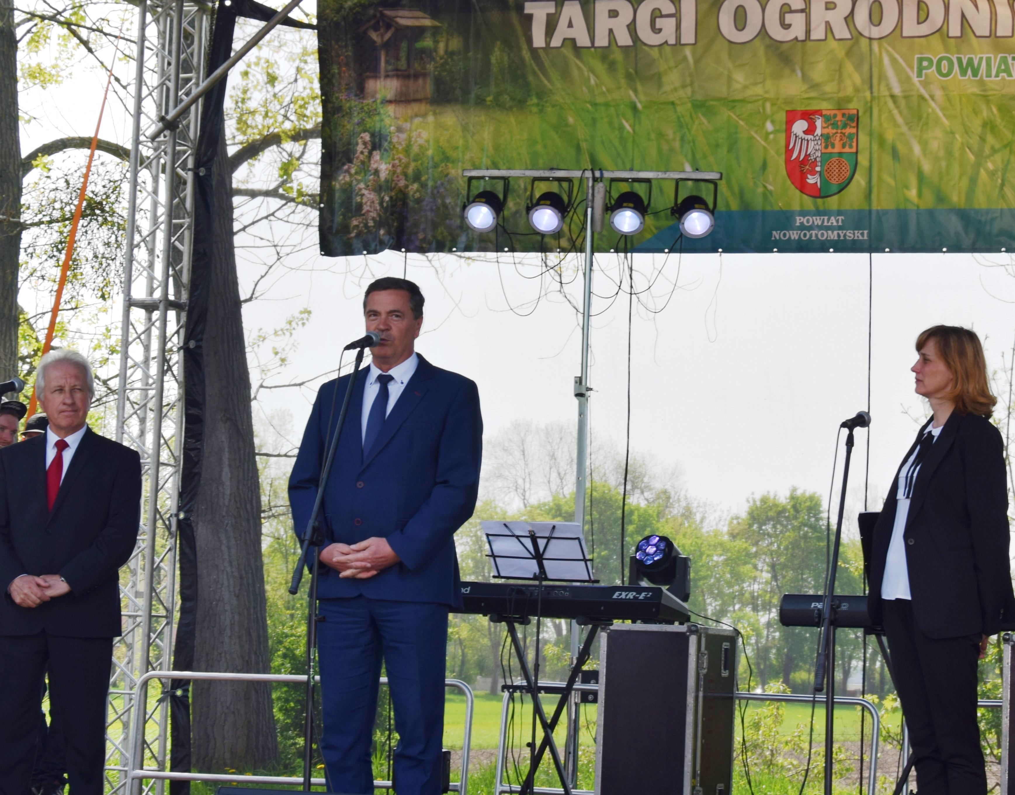 Ilustracja do informacji: XV Targi Ogrodniczo - działkowe Powiatu Nowotomyskiego