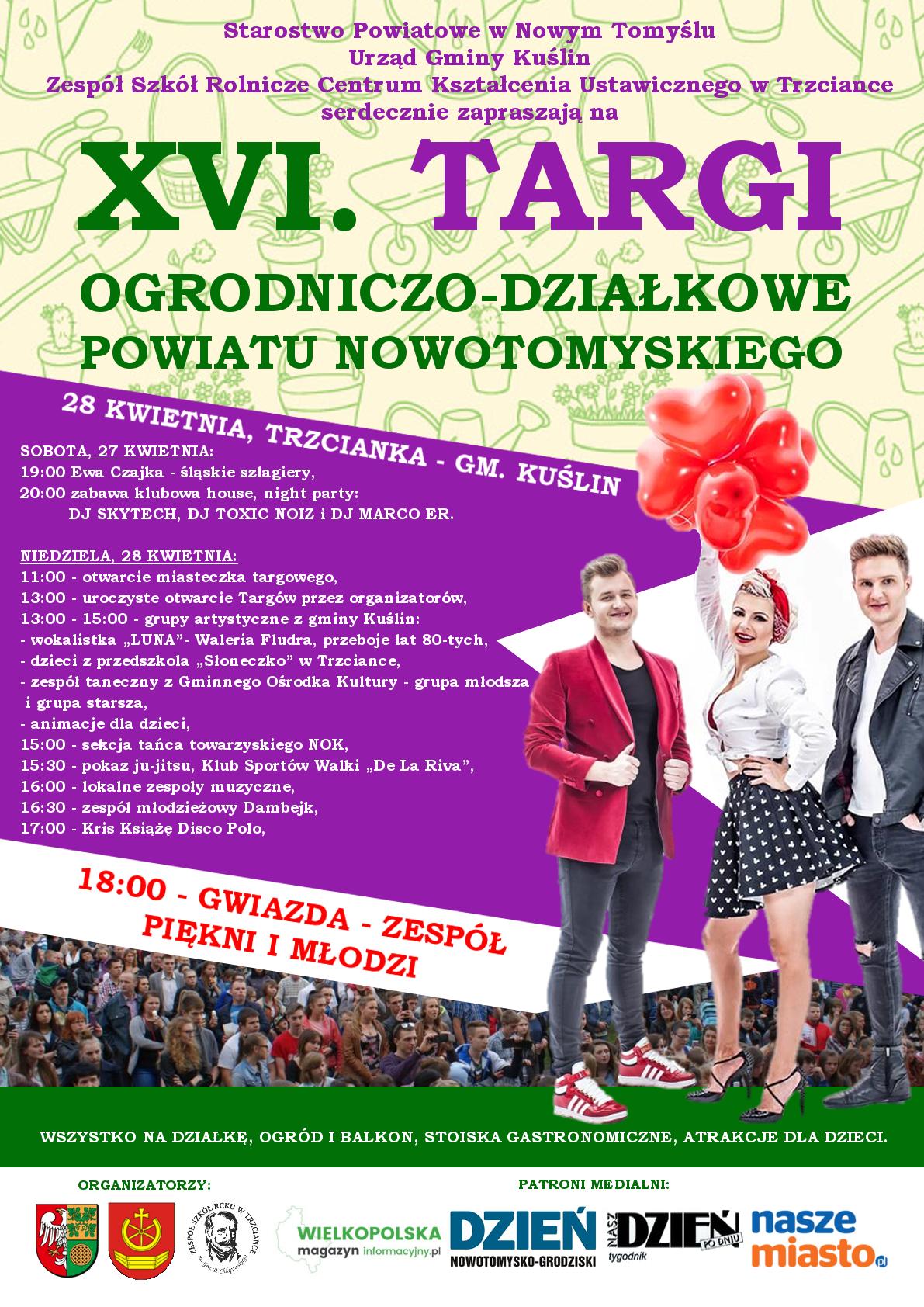 Ilustracja do informacji: XVI Targi Ogrodniczo-Działkowe Powiatu Nowotomyskiego