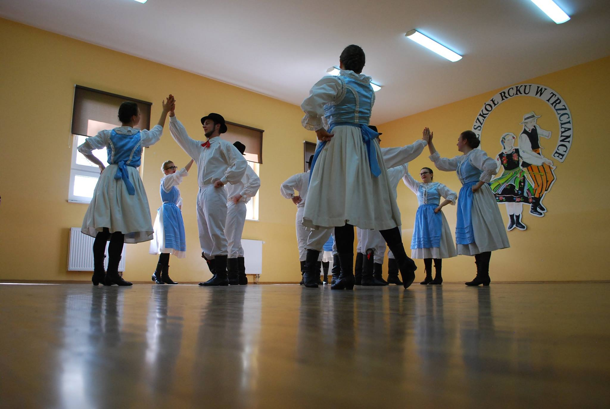 Ilustracja do informacji: Międzypowiatowy Przegląd Szkolnych Zespołów Tanecznych