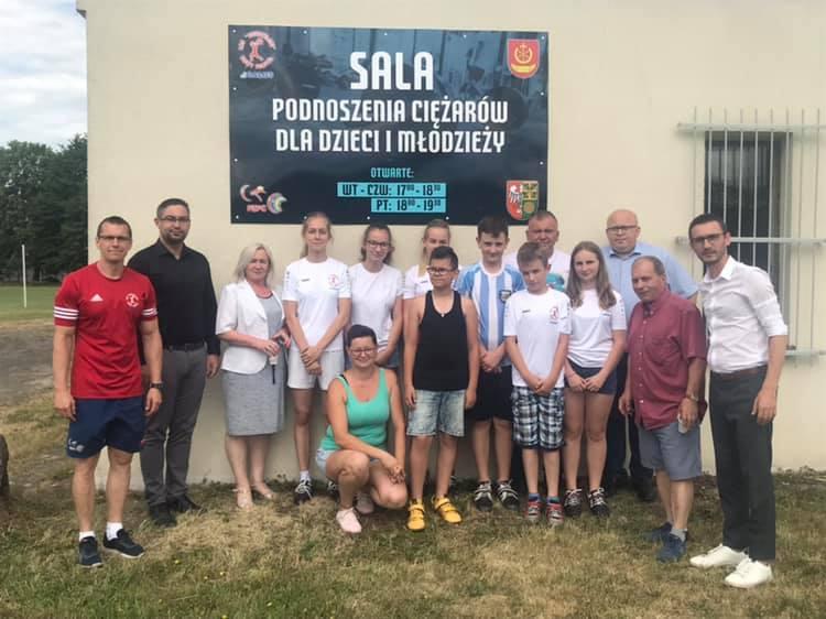 Ilustracja do informacji: Nowa sala ćwiczeń w Michorzewie