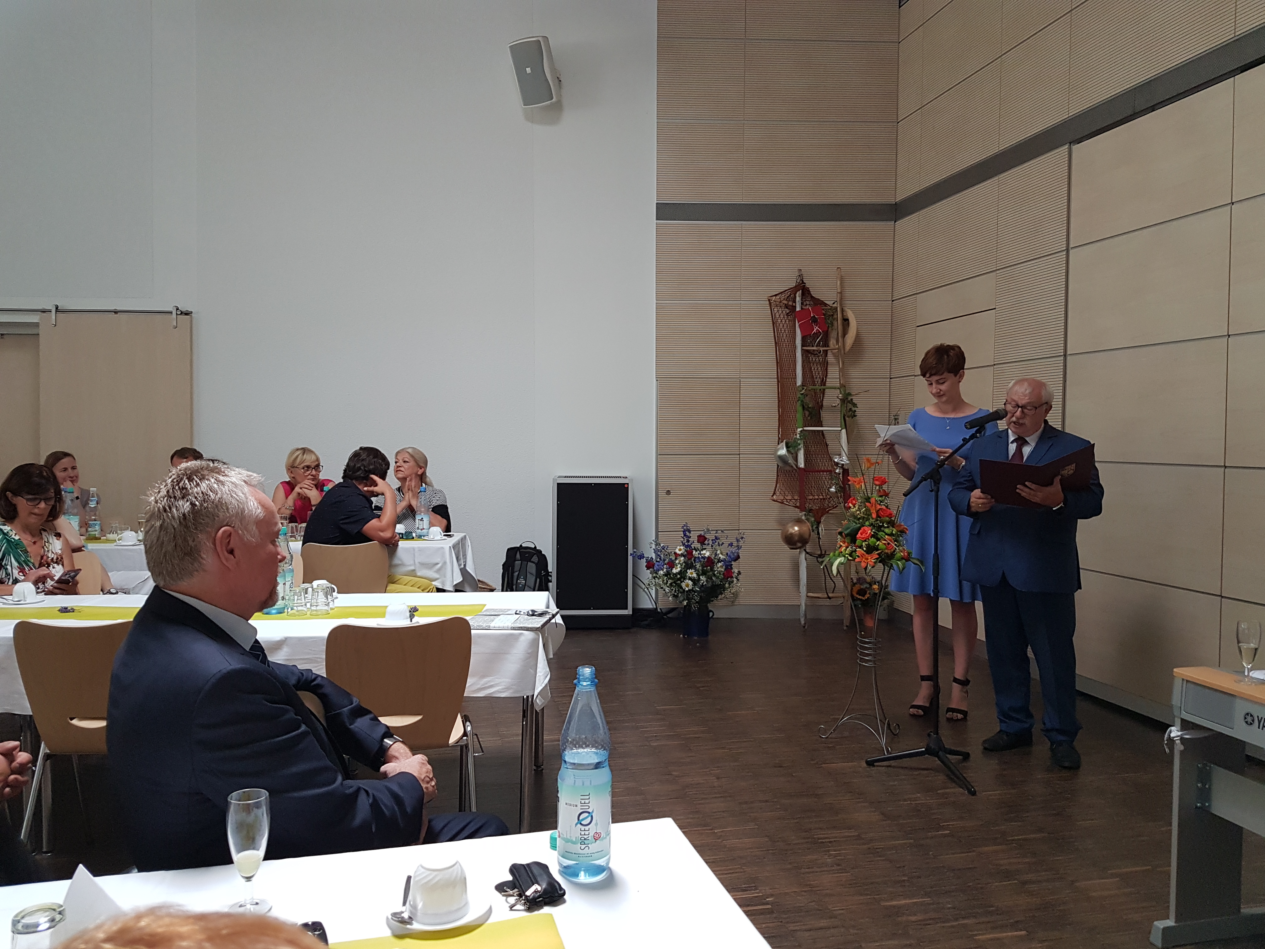 Ilustracja do informacji: Z partnerską wizytą w Niemczech