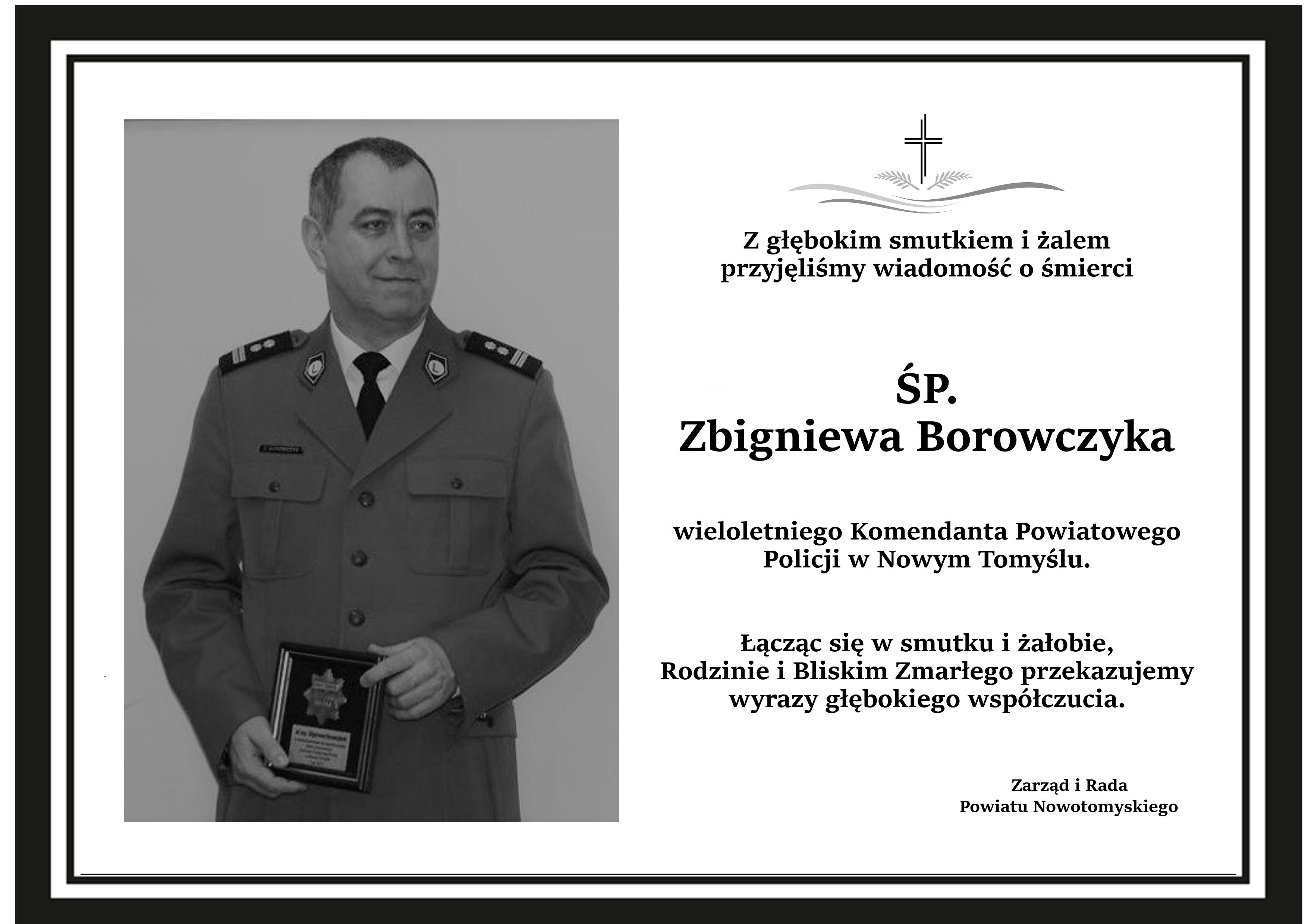 Ilustracja do informacji: Nie żyje wieloletni Komendant Powiatowy Policji