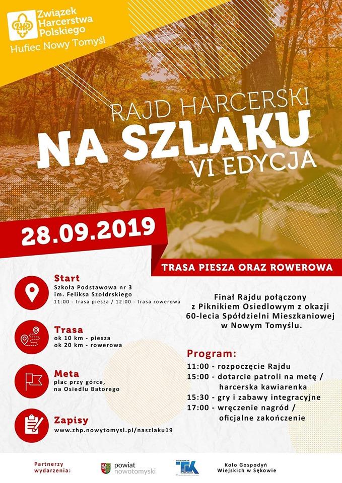 """Ilustracja do informacji: Już niedługo VI edycja Rajdu Harcerskiego """"Na Szlaku"""""""
