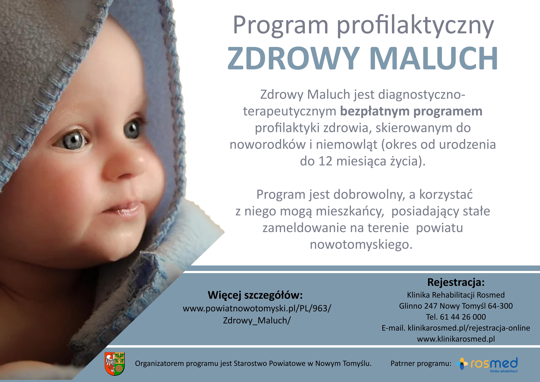 Ilustracja do informacji: Program Progilaktyczny Zdrowy Maluch