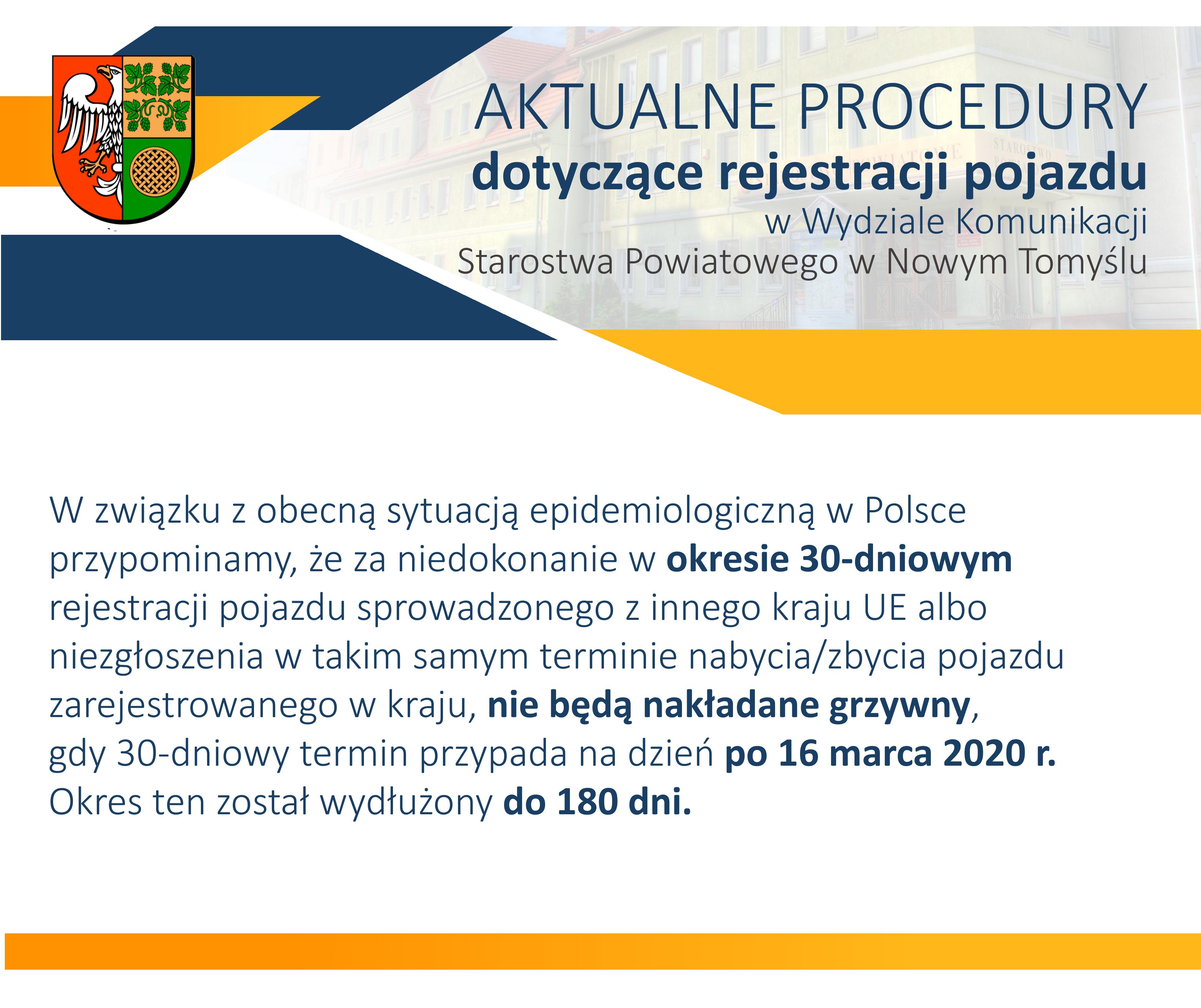 Ilustracja do informacji: Rejestracja i zbycie pojazdu