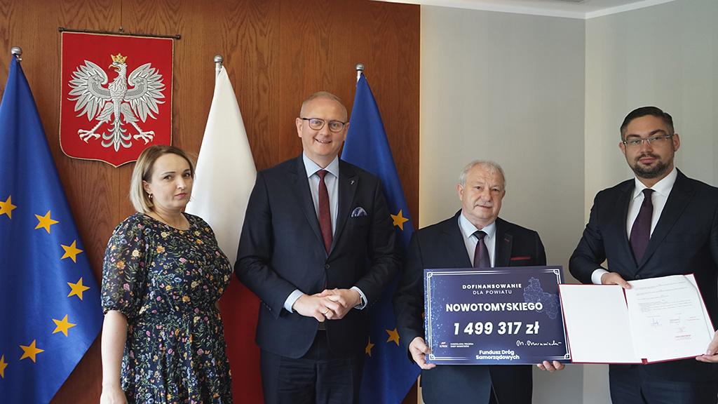 Ilustracja do informacji: Będzie przebudowa drogi Opalenica - Lwówek