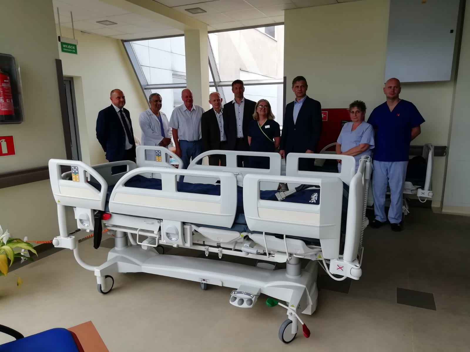 Ilustracja do informacji: Szpital otrzymał nowe łóżka