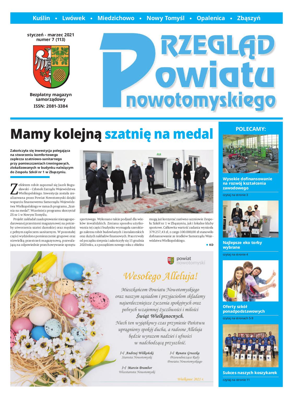 Ilustracja do informacji: Nowy numer Przeglądu Powiatu Nowotomyskiego