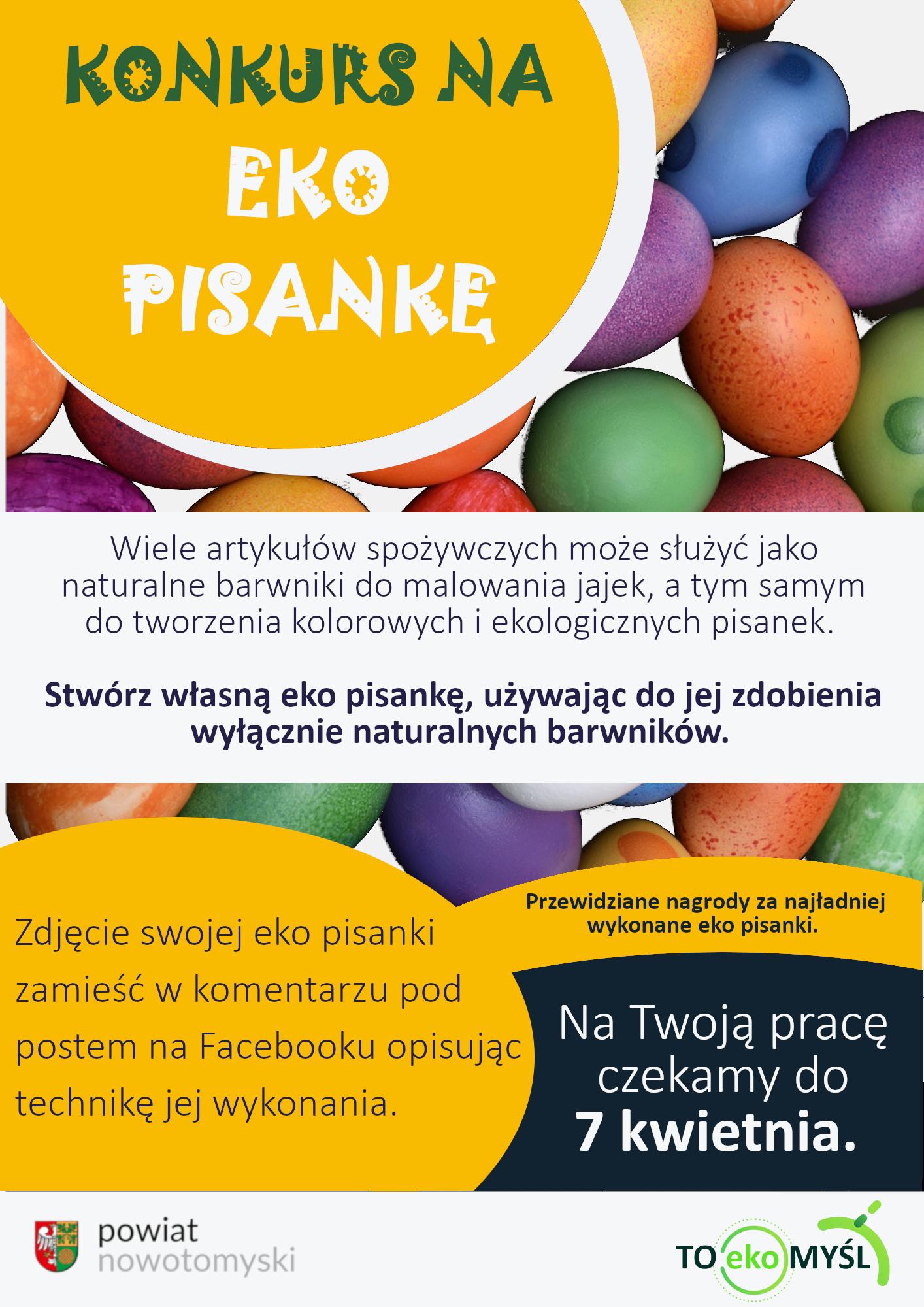 Ilustracja do informacji: Konkurs na eko pisankę!