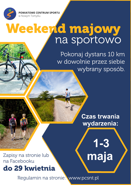 Ilustracja do informacji: Weekend majowy na sportowo