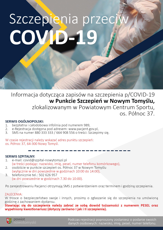 Ilustracja do informacji: Szczepienia przeciw COVID-19
