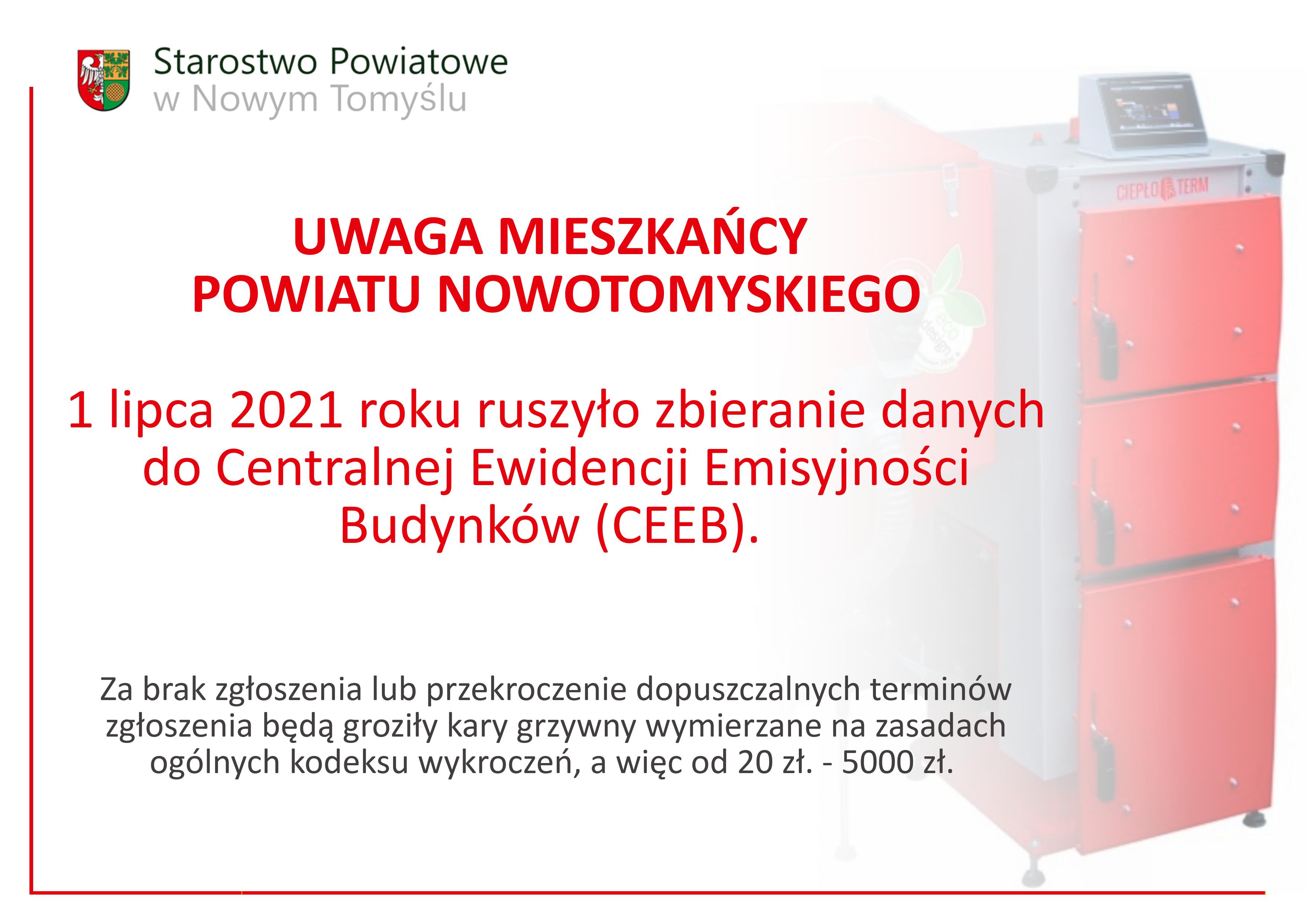 Ilustracja do informacji: UWAGA MIESZKAŃCY POWIATU NOWOTOMYSKIEGO