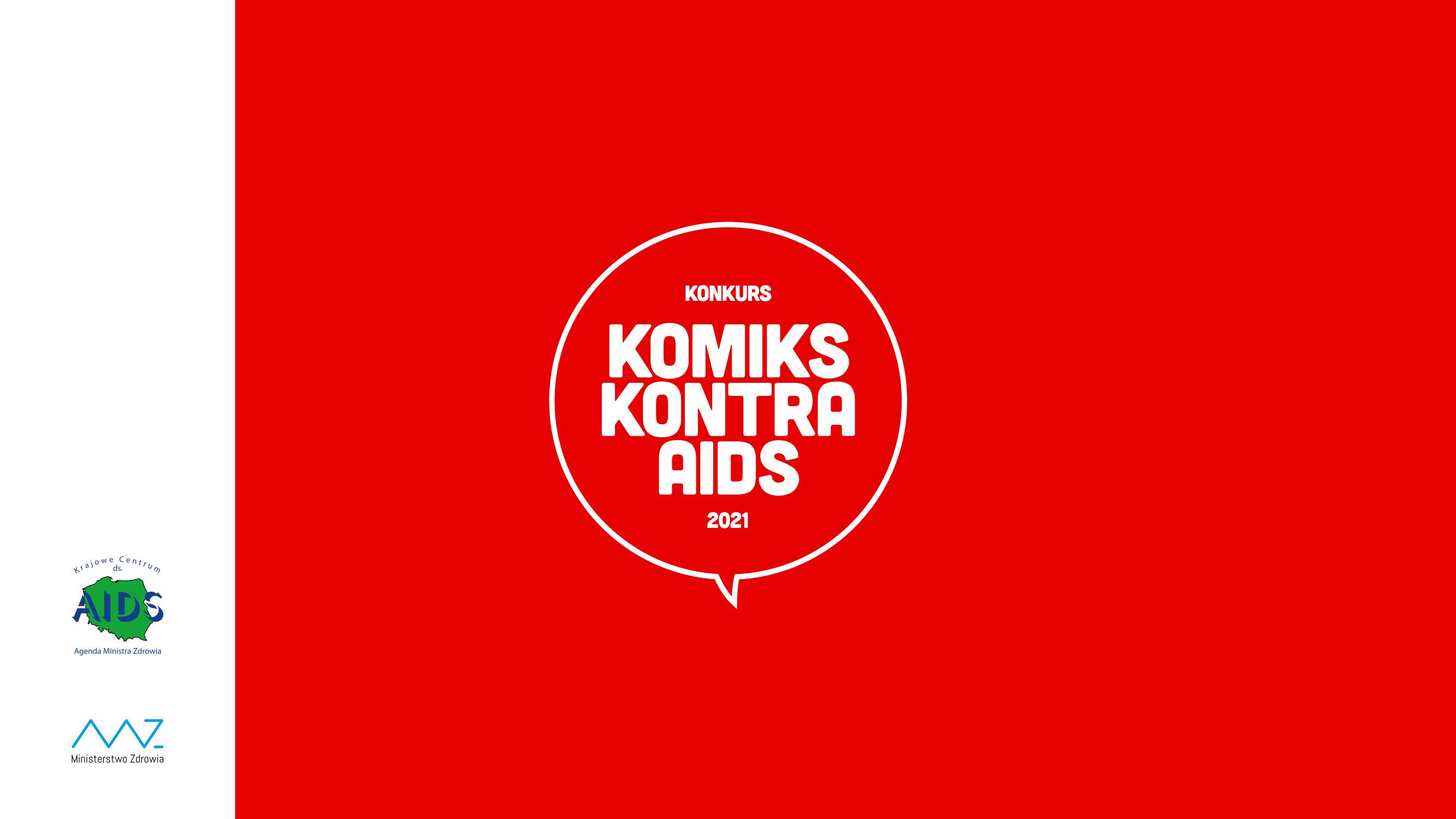 Ilustracja do informacji: Ogólnopolski konkurs na Komiks dotyczący HIV/AIDS