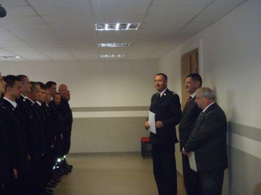 Ilustracja do informacji: Zasłużony strażak przeszedł na emeryturę