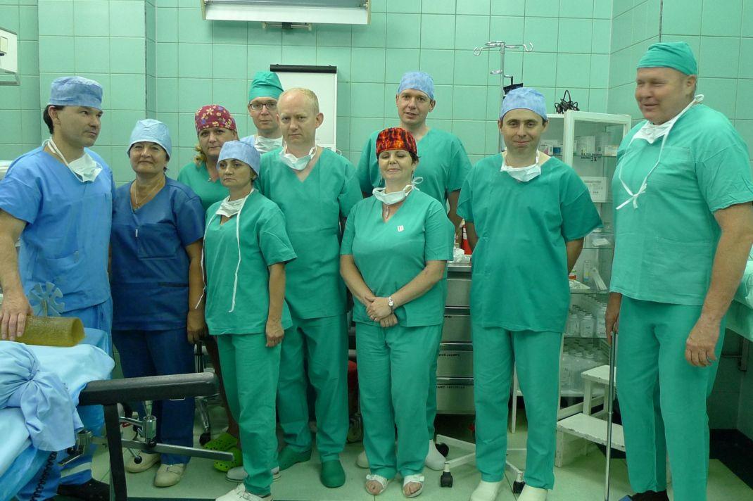 Ilustracja do informacji: Pierwsza operacja kręgosłupa w Nowym Tomyślu