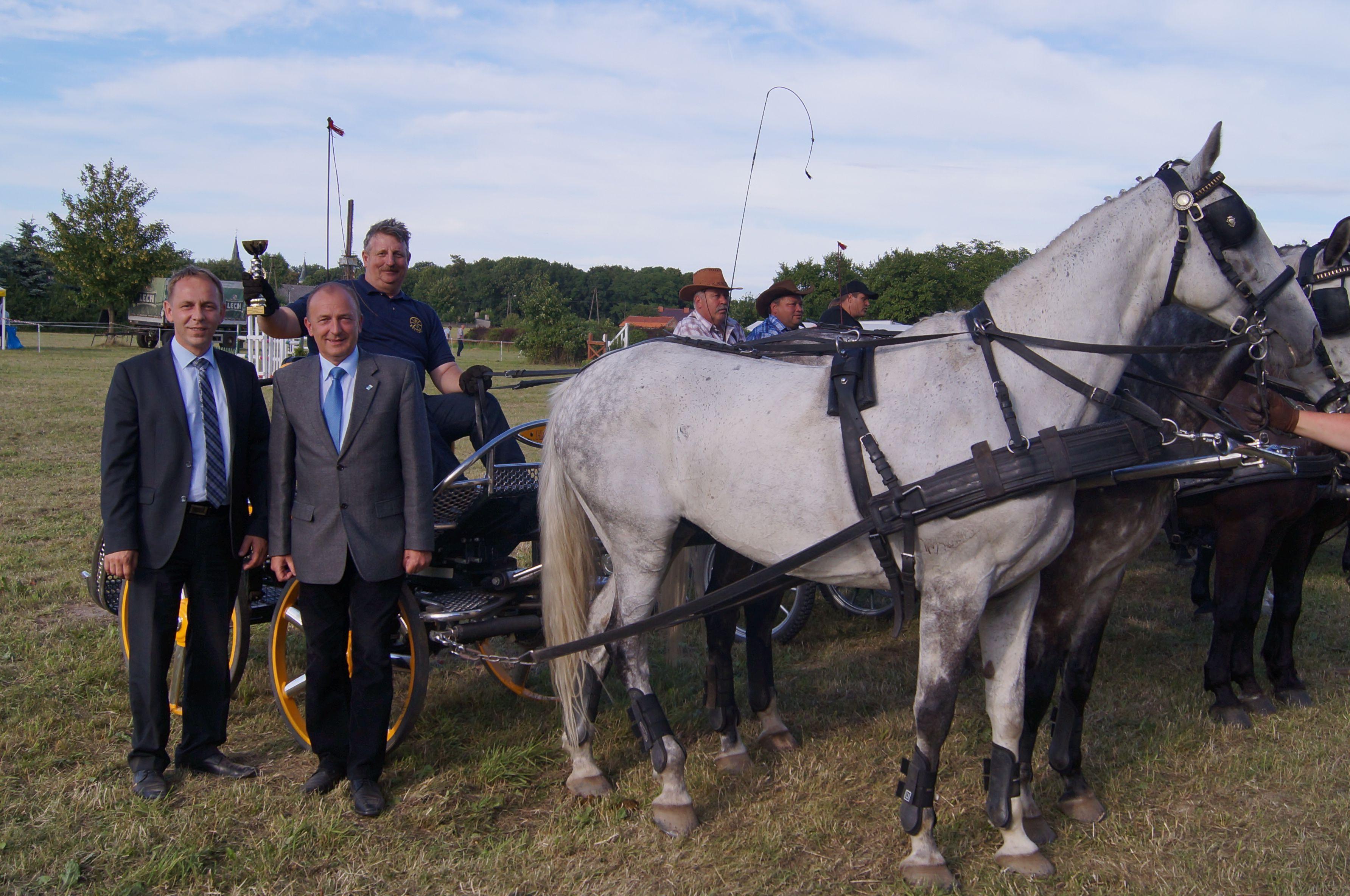 Ilustracja do informacji: Jeździeckie święto w Posadowie