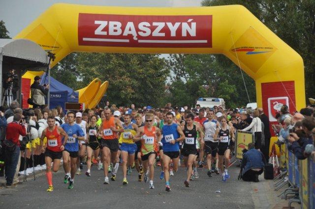 Ilustracja do informacji: XXVI Bieg Zbąskich, VII Półmaraton